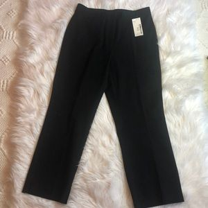 INC High Rise Cropped Cotton Pants